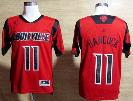 NCAA Louisville Cardinals 2013 March Madness Luke Hancock 11 Jersey - red