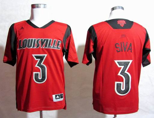 NCAA Louisville Cardinals 2013 March Madness Peyton Siva 3 Jersey - Red