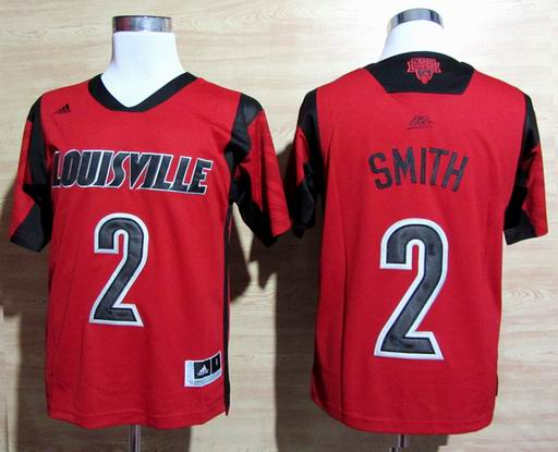 NCAA Louisville Cardinals 2013 March Madness Russ Smith 2 Jersey - Red