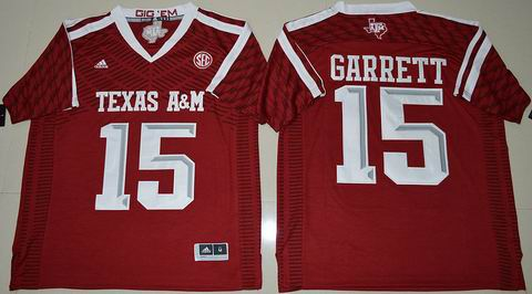 NCAA Texas A&M Aggies #15 Myles Garrett College Football Jersey Maroon