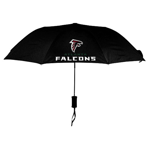 NFL Atlanta Falcons Folding Umbrella Black