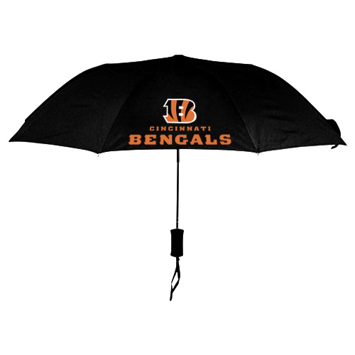 NFL Cincinnati Bengals Folding Umbrella Black