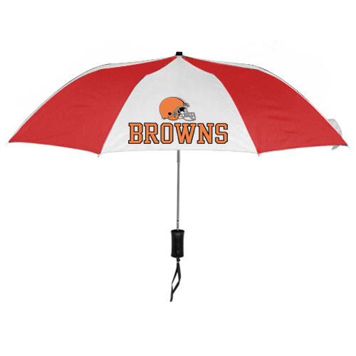 NFL Cleveland Browns Folding Umbrella RED&White