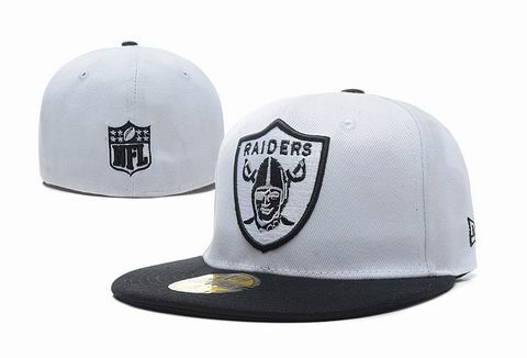 NFL Oakland raiders fitted cap 015