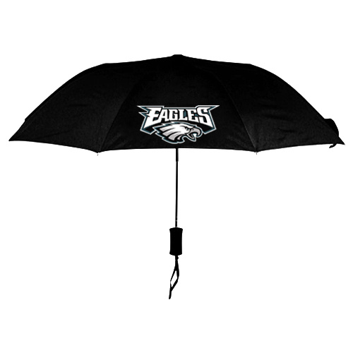 NFL Philadelphia Eagles Folding Umbrella Black