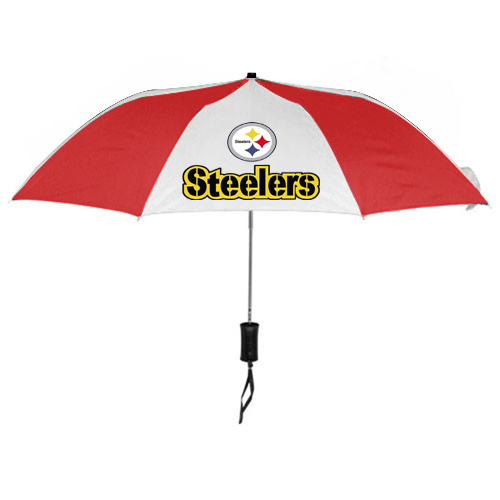 NFL Pittsburgh Steelers Folding Umbrella RED&White