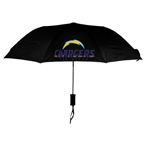 NFL San Diego Charger Folding Umbrella Black