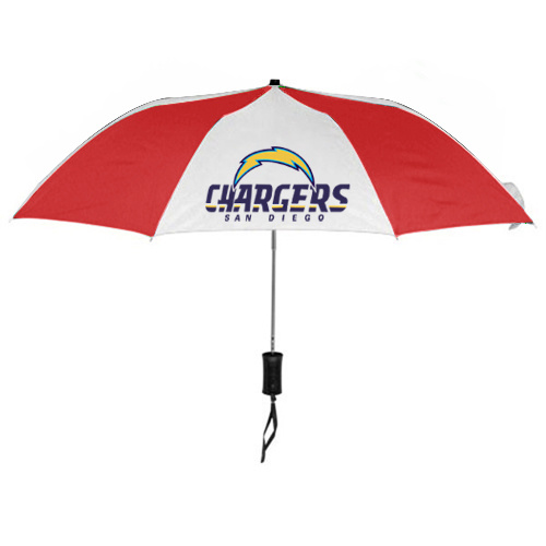 NFL San Diego Charger Folding Umbrella RED&White