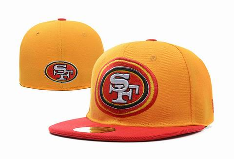 NFL San Francisco 49ers fitted cap 013