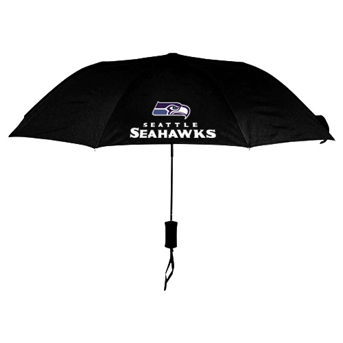 NFL Seattle Seahawks Folding Umbrella Black