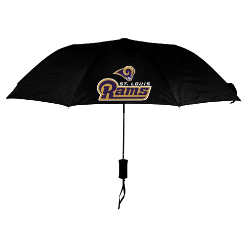 NFL St.Louis Rams Folding Umbrella Black