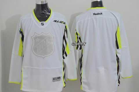 NHL Blank white 2015 All Star Jersey