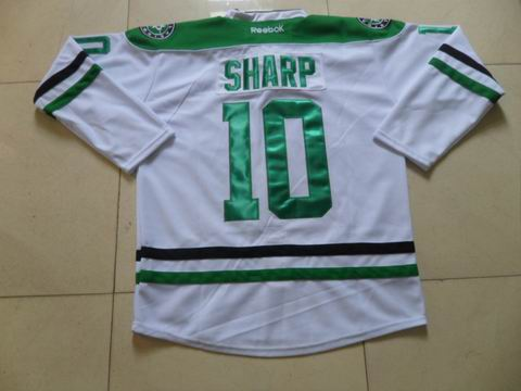 NHL Dallas Stars 10 Sharp white jersey