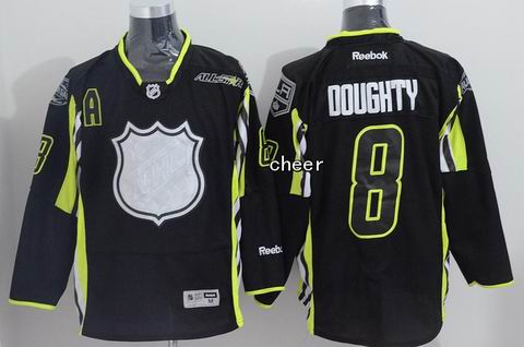 NHL Los Angeles Kings #8 doughty black 2015 All Star Jersey