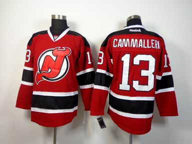NHL New Jersey Devils 13 Cammalleri red jersey
