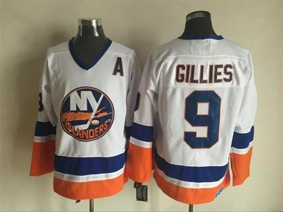 NHL New York Islanders #9 Gillies white jersey