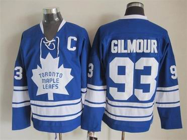 NHL Toronto Maple Leafs 93 Gilmour blue jersey