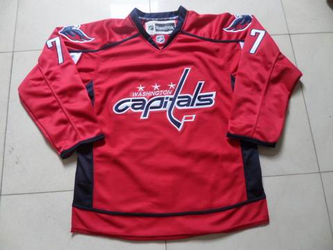 NHL Washington Capitals 77 Oshie red jersey