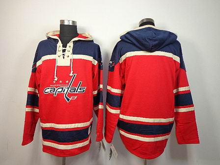NHL Washington Capitals blank red Hoodies Jersey