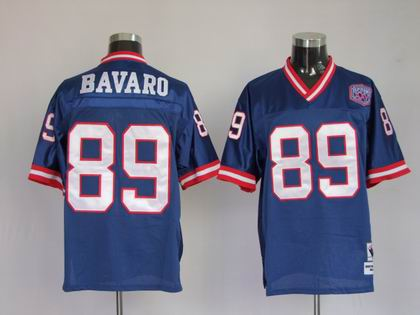 New York Giants 89 Kevin Boss Throwback Blue jersey