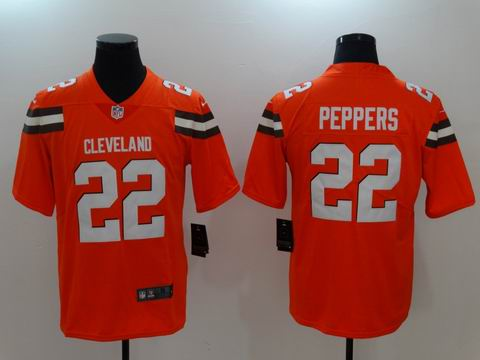 Nike nfl Browns #22 Peppers Vapor Untouchable limited jersey