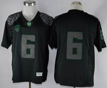 Oregon Ducks Charles Nelson 6 NCAA Limit Football Jersey - Blackout