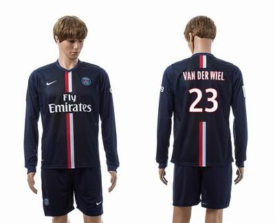 PSG home long sleeve 23#