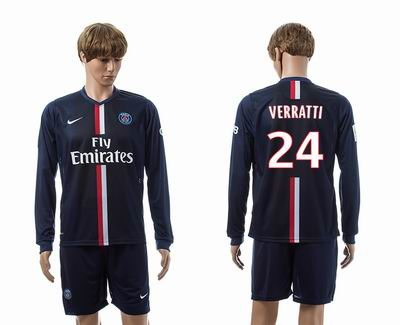 PSG home long sleeve 24#