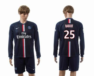 PSG home long sleeve 25#
