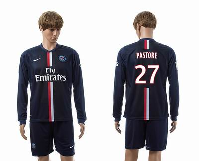 PSG home long sleeve 27#