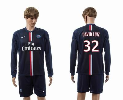 PSG home long sleeve 32#