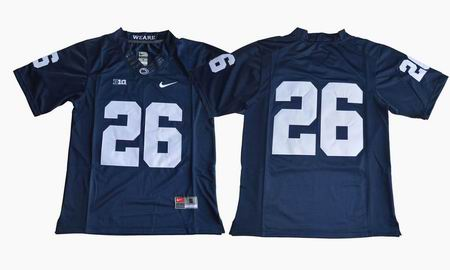 Penn State Nittany Lions Saquon Barkley #26 College Football Jersey blue