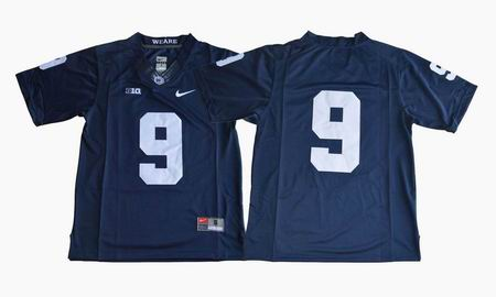 Penn State Nittany Lions Trace McSorley #9 College Football Jersey Blue