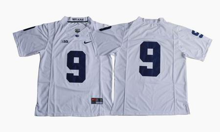 Penn State Nittany Lions Trace McSorley #9 College Football Jersey white