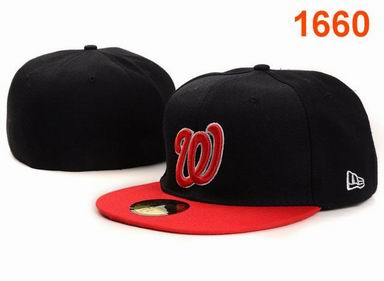 Washington Nationals fitted cap 1660