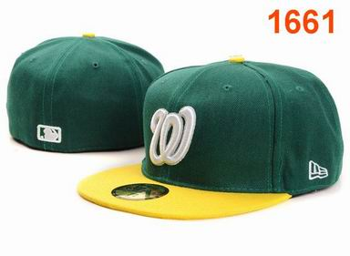 Washington Nationals fitted cap 1661