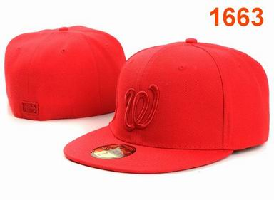 Washington Nationals fitted cap 1663