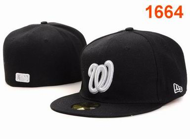 Washington Nationals fitted cap 1664