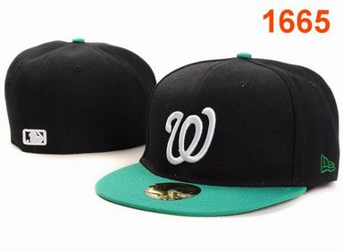 Washington Nationals fitted cap 1665