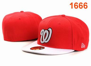 Washington Nationals fitted cap 1666