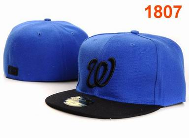 Washington Nationals fitted cap 1807