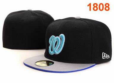 Washington Nationals fitted cap 1808