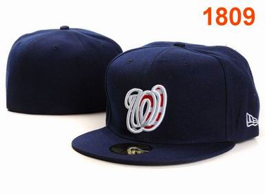Washington Nationals fitted cap 1809