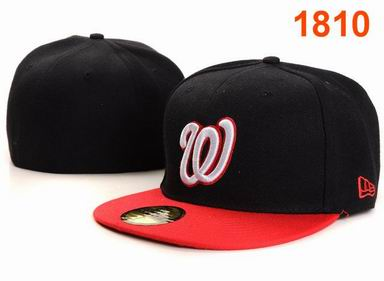 Washington Nationals fitted cap 1810