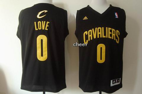 Youth NBA Cleveland Cavaliers #0 love black Jersey