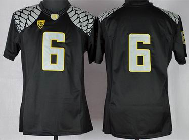 Youth Oregon Ducks Charles Nelson 6 NCAA Limit Football Jersey - Black