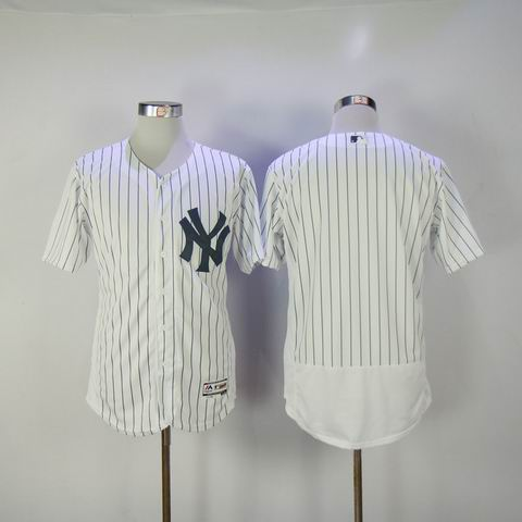 Youth mlb yankees blank white jersey