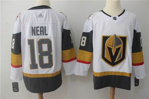 adidas nhl Vegas Golden Knights #18 Neal white jersey