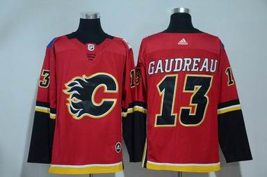 adidas nhl calgary flames #13 Gaudreau red jersey