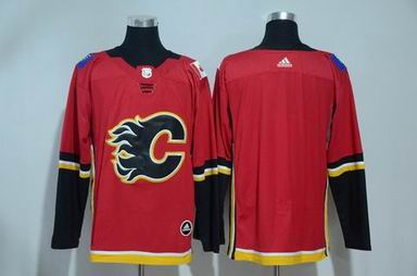 adidas nhl calgary flames blank red jersey